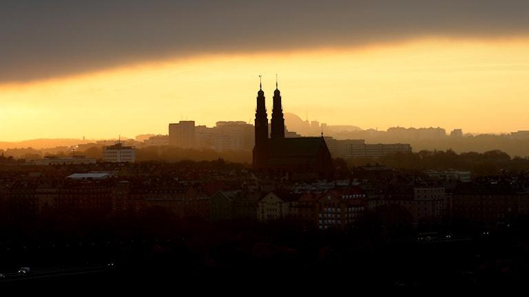 Stockholm i soluppgången