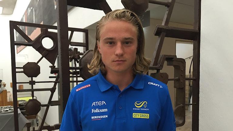 Fredrik Samuelsson är laddad inför friidrotts-VM i London.