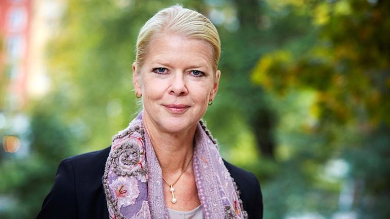 Landstingsdirektör Malin Frenning.