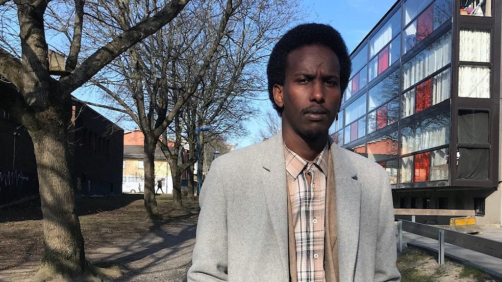 Muhamed Nuur, lokalpolitiker för Socialdemokraterna