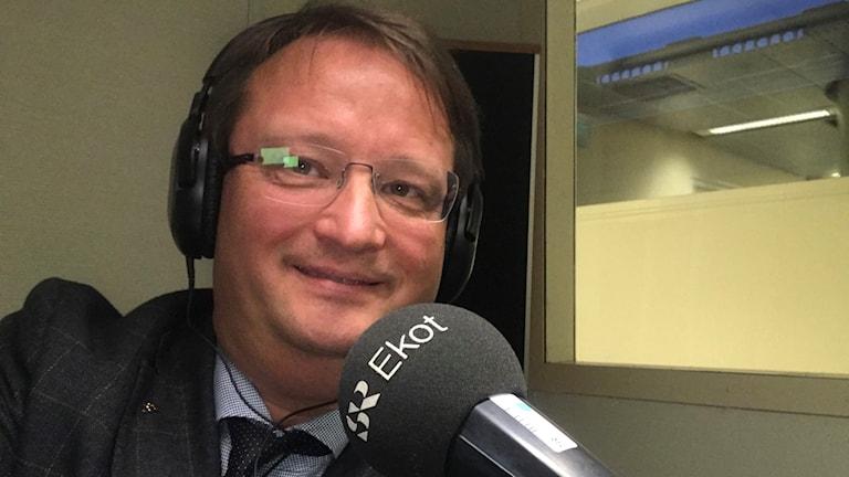 Lars Beckman (M), riksdagspolitiker från Gävle.