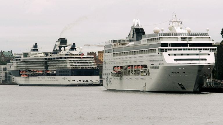 Kryssningsfartyg i Stadsgårdskajen