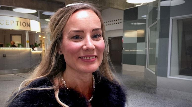 Charlotte Sjöberg.
