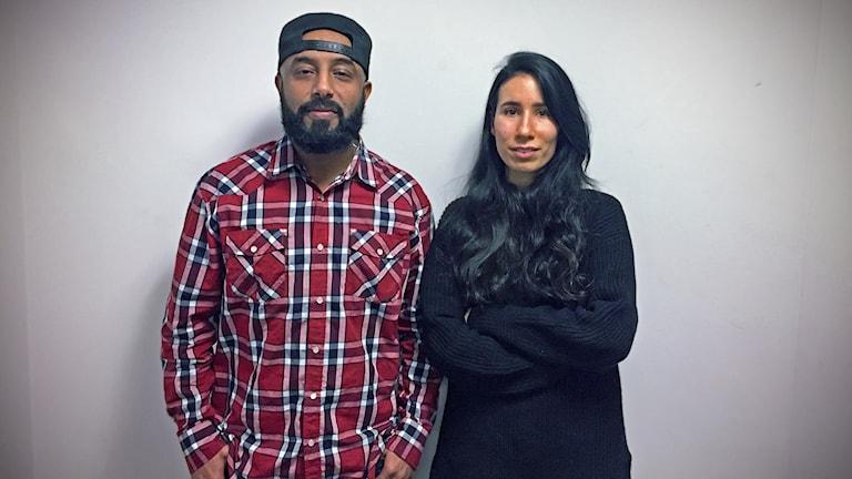 Samson Beshir och Dilan Aksoy.