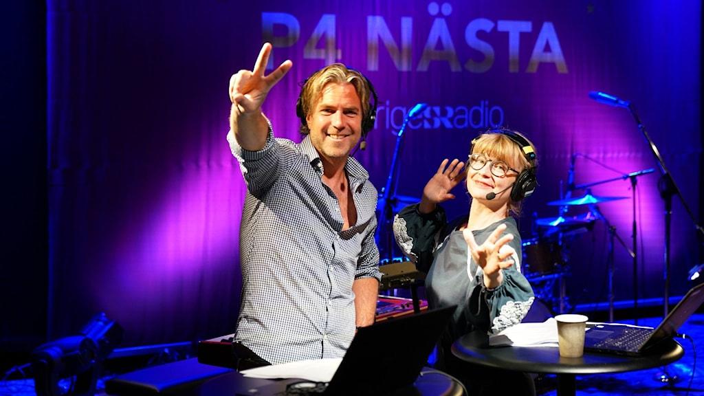 P4 Nästa Stockholm, Fredrik Eliasson och Josefine Sundström