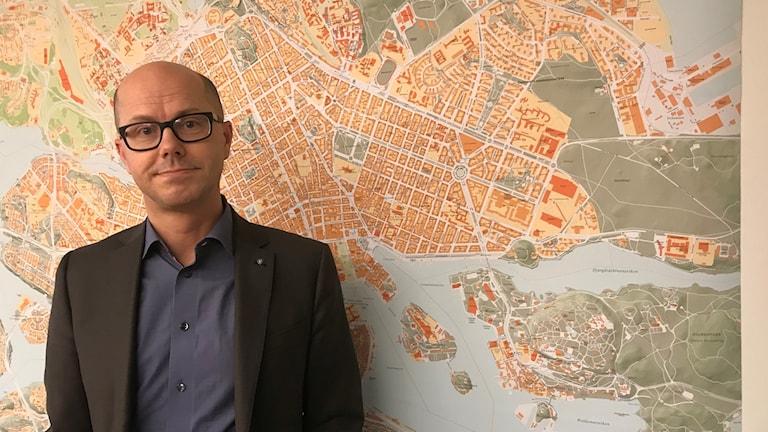 Jonas Eliasson, trafikdirektör Stockholms stad