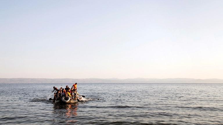 Båtflyktingar i medelhavet