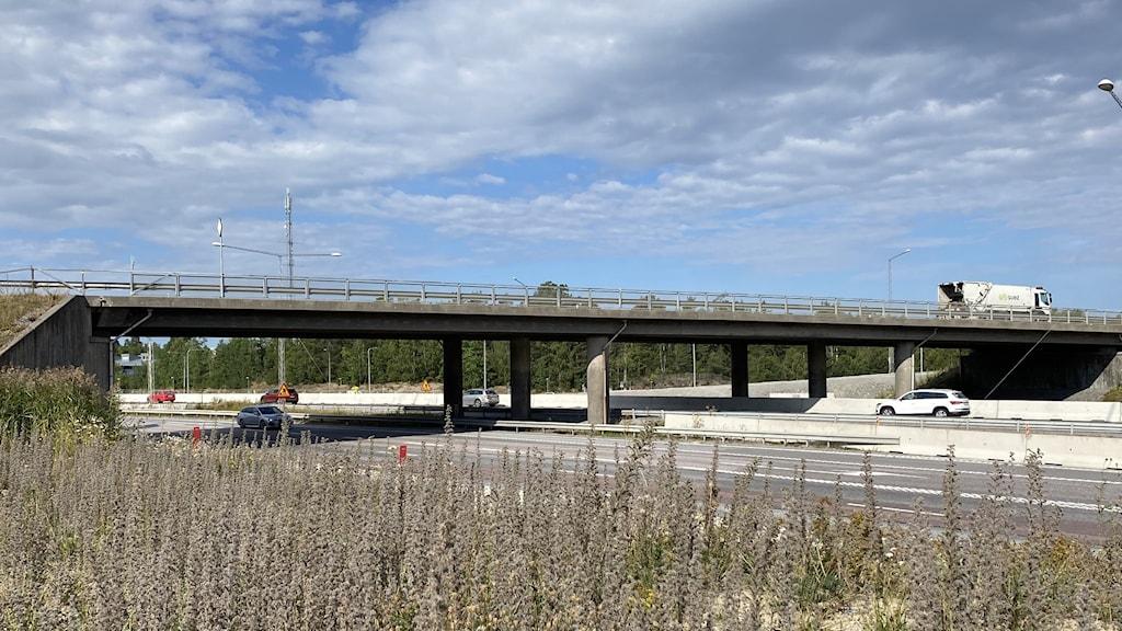 Bild på bron som ska rivas.