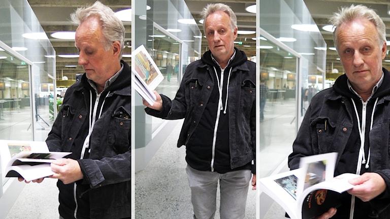 """Jan Stenmark med nya boken """"Människor som finns"""""""