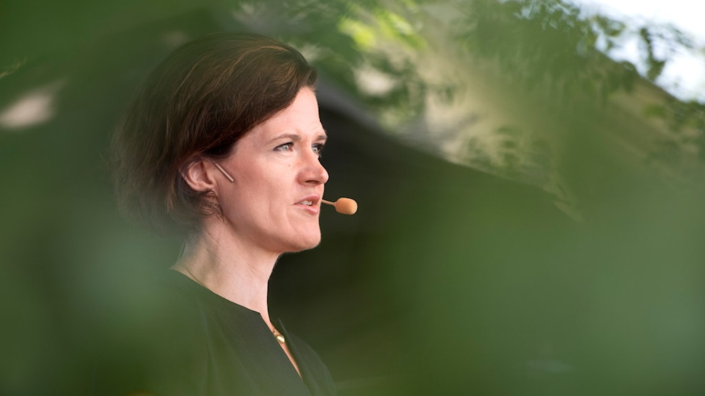Moderaternas partiledare Anna Kinberg Batra (M)