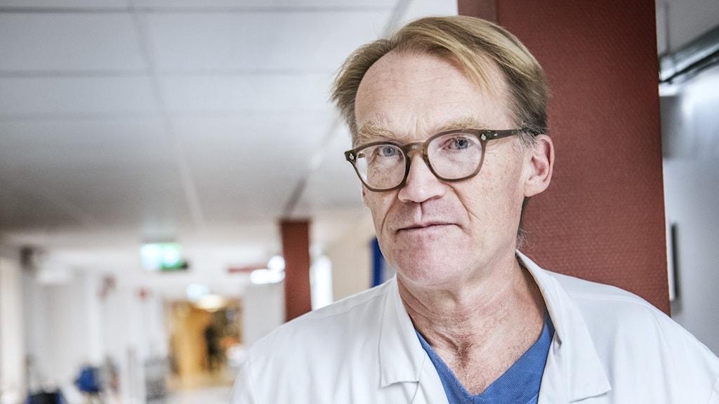 Johan Styrud, överläkare Danderyds sjukhus och ordförande i Stockholms läkarförening