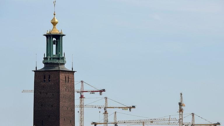 Det byggs rekordmycket i Stockholms län (arkivbild).