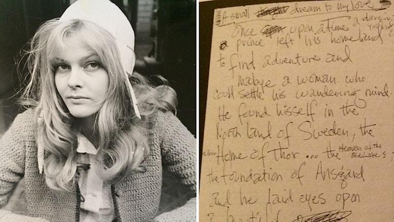 Eva Swedenmark och dikten från Jimi Hendrix