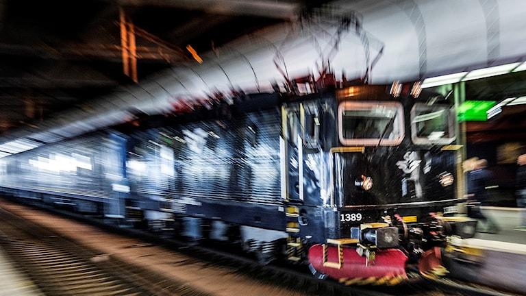 Tåg på Stockholms central (arkivbild).