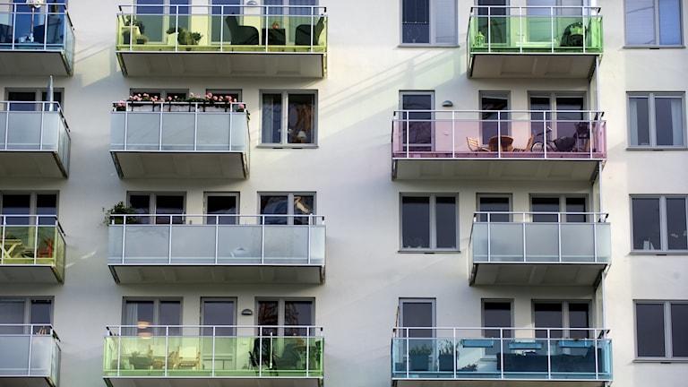 Lägenheter i Stockholm.