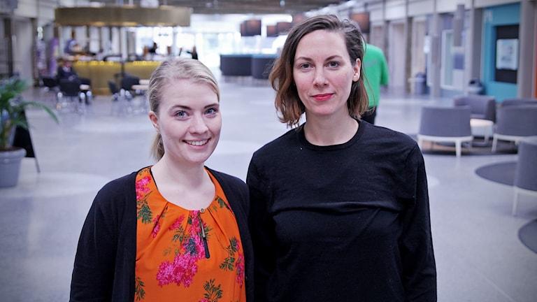 Mia Fernando och Louise Winblad.