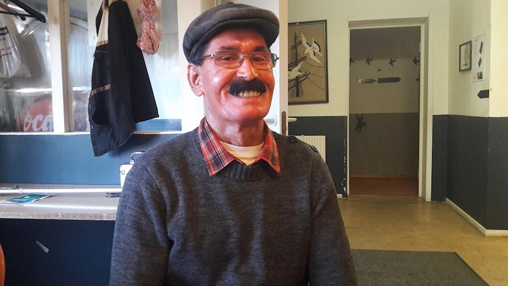 Abdul Komaki jobbar på Verdandi i Botkyrka