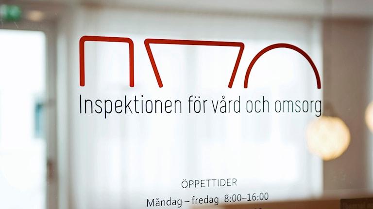IVO, inspektionen för vård- och omsorg