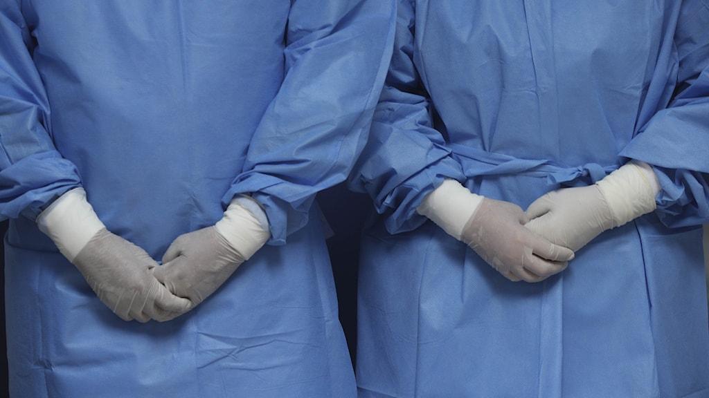 Sjukvårdspersonal.