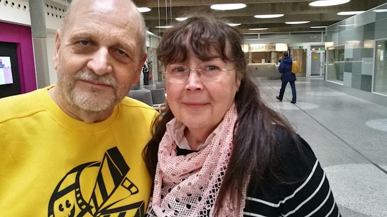 Tommie Hansson och Birgitta Angebrant