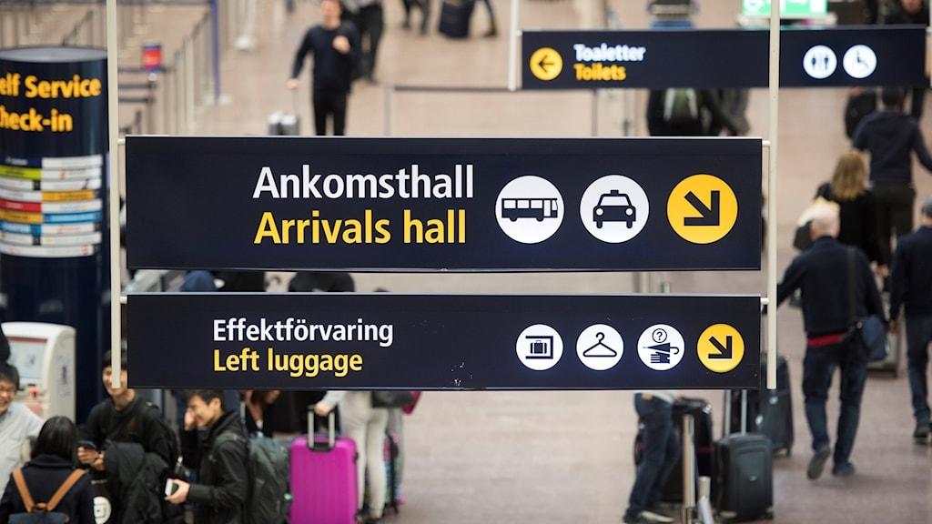 Arlanda ankomsthall
