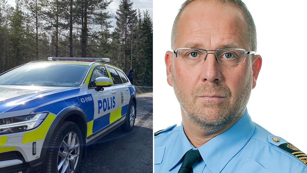 Robert Karlsson biträdande regionpolischef i Stockholm.