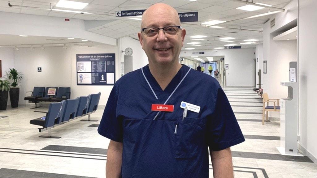 Professor Henrik Grönberg har drivit forskningen kring ett nytt effektivare prostatacancertertest, Stockholm 3.