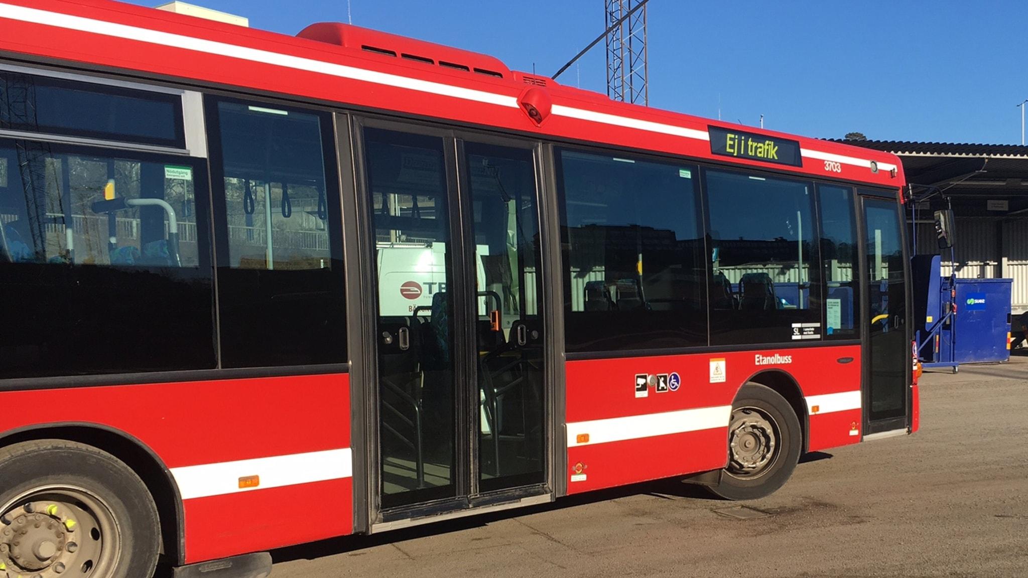 Maxhastighet tung buss