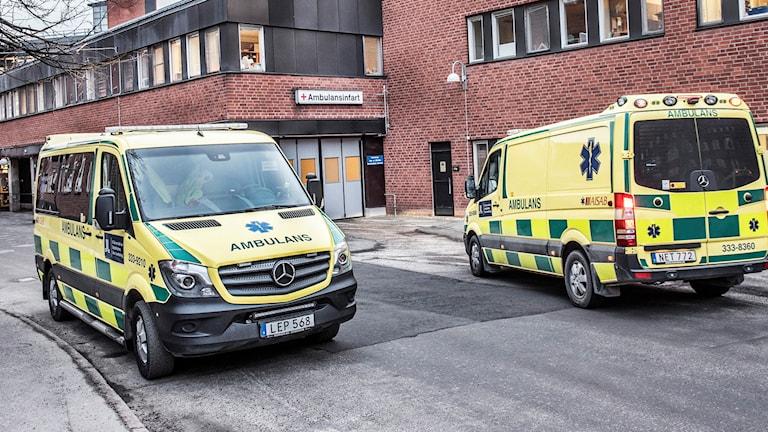 Akutmottagningen Karolinska i Solna