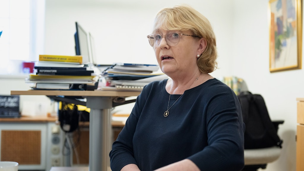 Irene Svenonius (M), finansregionråd.