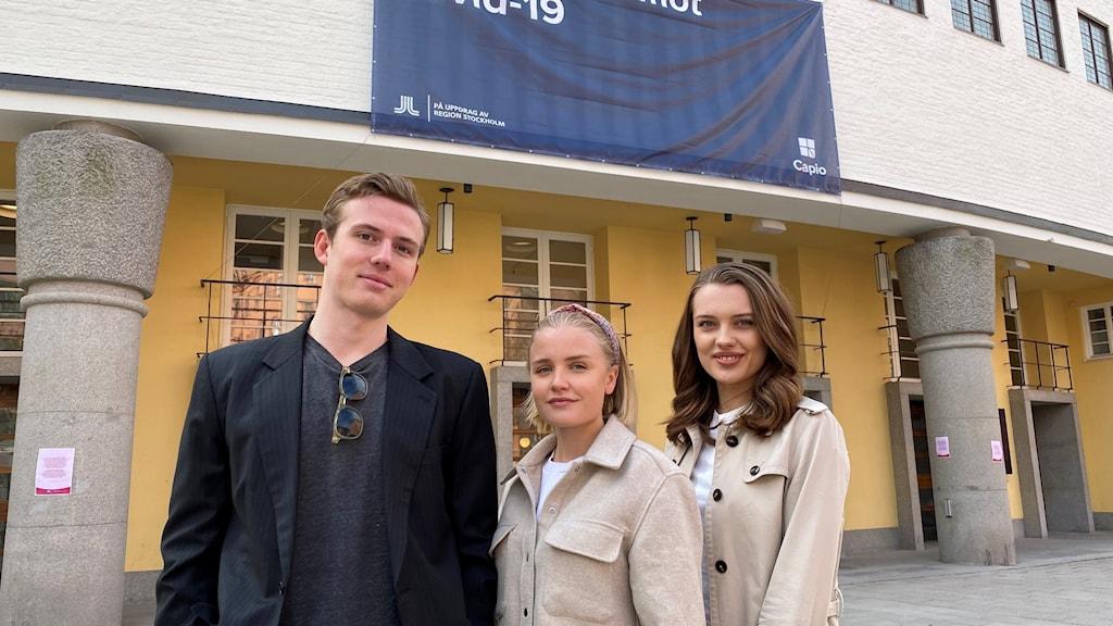 Studenter från Stockholm startar insamlingsorganisation för att bidra med Covid-19 vaccin i utvecklingsländer.