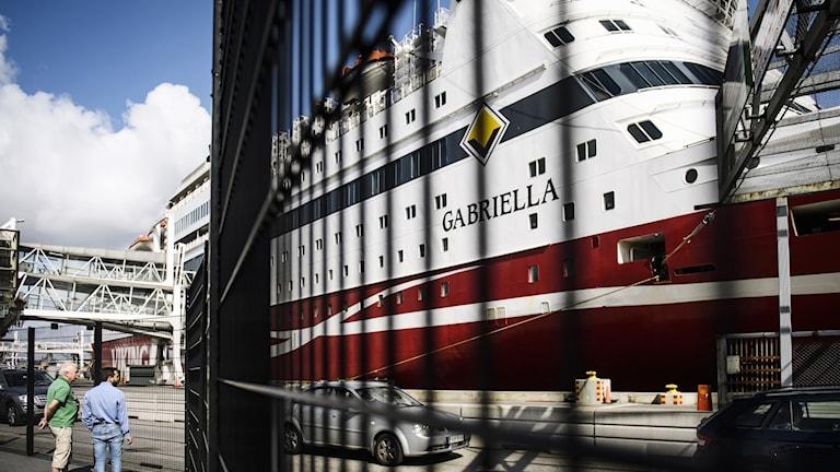 Viking Lines fartyg Gabriella.