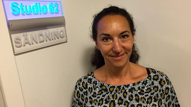 Stresscoach Petra Kahn Nord. Foto: Jenny Goldkuhl/Sveriges Radio