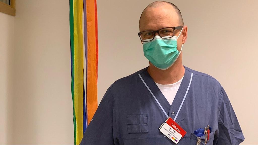 Överläkare Finn Filén.