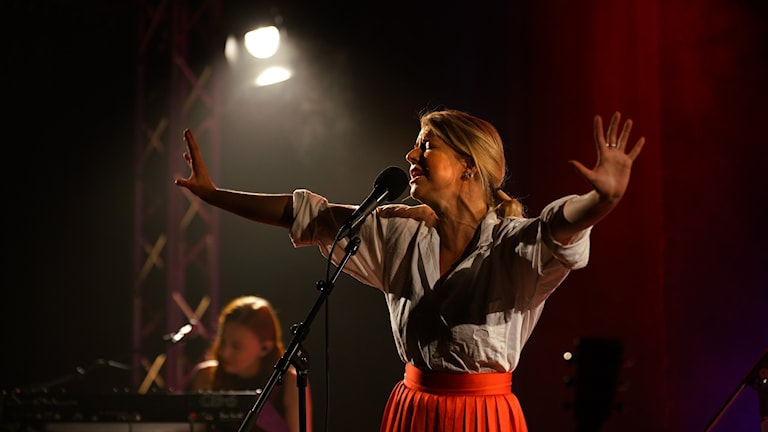 Frida Öhrn på Musikplats Stockholm