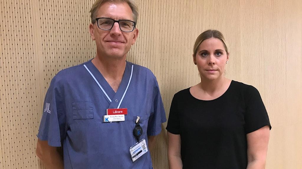 - Kunskapen runt sepsis behöver bli bättre säger läkaren Kristofer Strålin och patienten Liza Lindham