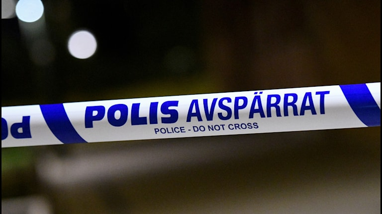 Polisband, avspärrning