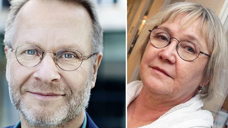 Björn Wellhagen och Ann-Margrethe Livh (V)