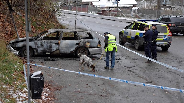 Utbrunnen bil i Bromma.