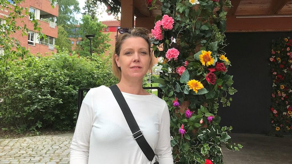 Tove Sandahl Fransson, chef på Kulturförvaltningen i Huddinge