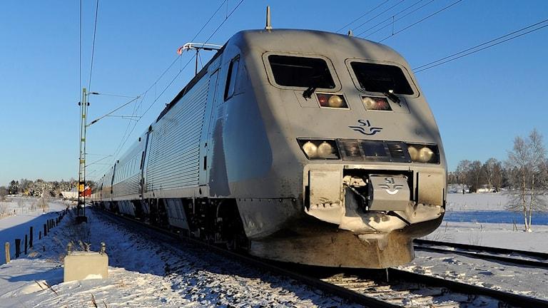 X2000 - ett av SJ:s snabbtåg (arkivbild).