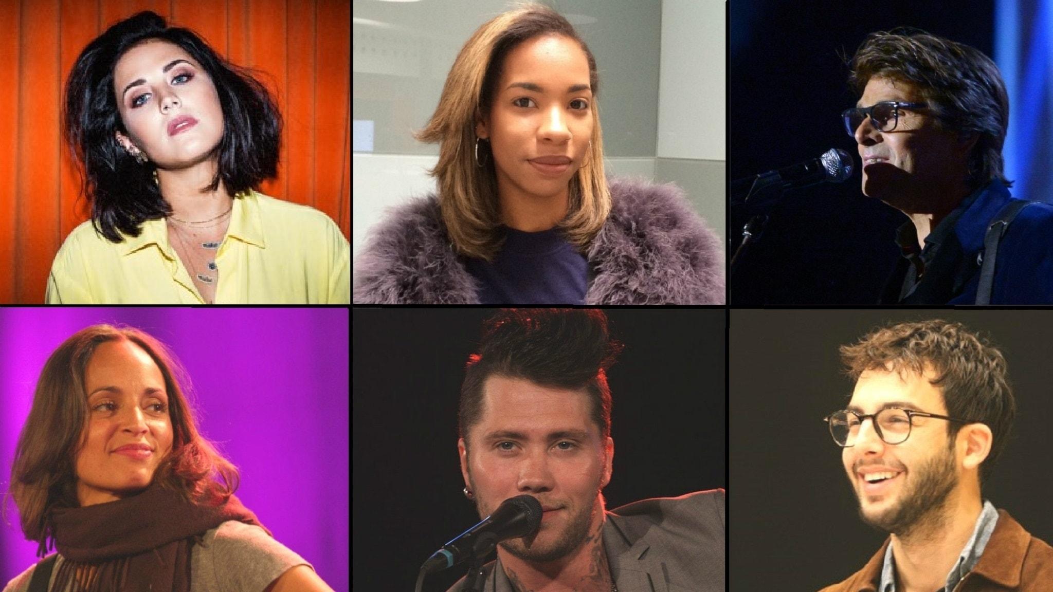 Artisterna som sjunger på Musikplats Special för Världens Barn.