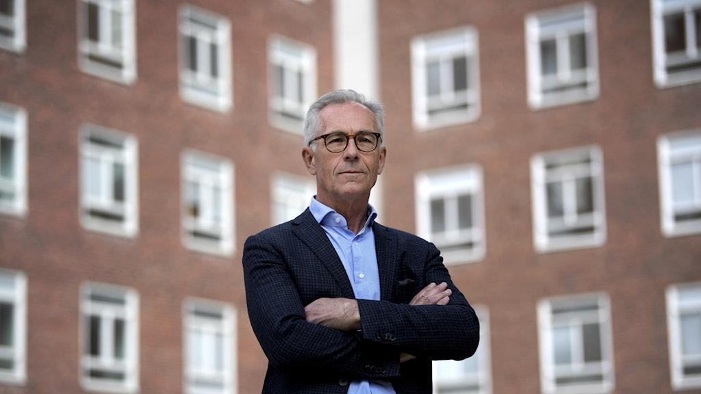 Jan Albert, professor, överläkare Institutionen för mikrobiologi, tumör-och cellbiologi, Karolinska Institutet