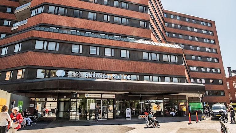 Capio S:t Görans sjukhus.