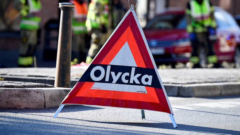 Flera olyckor vid trafikplats Lindvreten, på E4/E20 Södertäljevägen.