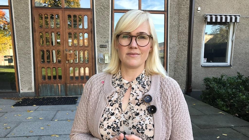 Sara Heelge Vikmång, oppositionsråd, (S) i Huddinge