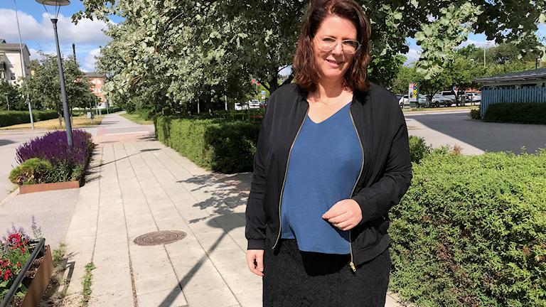 Ebba Östlin (S), kommunstyrelsens ordförande i Botkyrka.