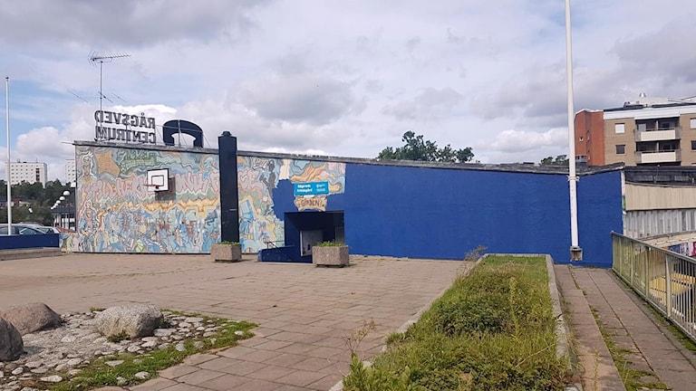Rågsved mural Highway