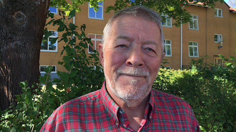 Stig Nyman, ordförande för PRO i Sollentuna.
