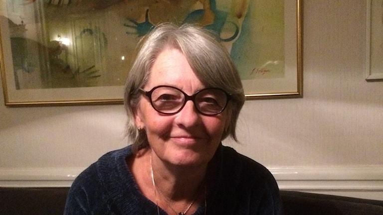 Professor Elisabet Nihlfors vid Uppsala Universitet